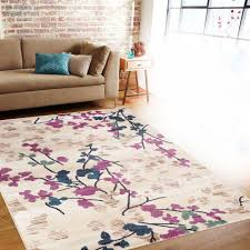 Bound Area Rugs Pink Floral Area Rug Rugs Decoration