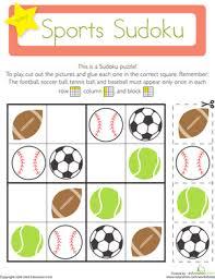 sports sudoku critical thinking skills thinking skills and