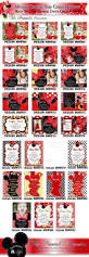 Minnie Mouse Invitation Card 51 Best Red Minnie Mouse Invitations U0026 Party Printables Images On