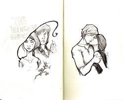 berries and kiss sketch by ratgirlstudios on deviantart