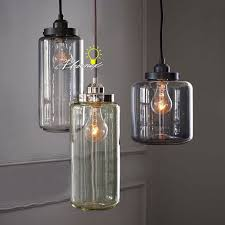 Blown Glass Pendant Lights Country Blown Glass Jar Pendant Lighting 8083 Free Ship Browse