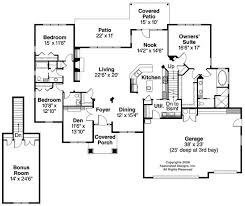 large kitchen floor plans ranch style home plan home plan styles