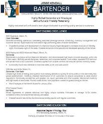 Resume Examples For Bartender by Absolutely Smart Bartender Resume Sample 6 Cv Resume Ideas