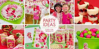 strawberry shortcake birthday party ideas strawberry birthday party craftbnb