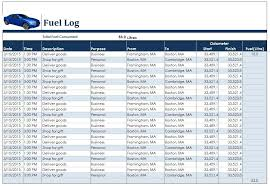 fuel report template 10 free sle fuel log templates printable sles