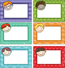 printable name tags illustration featuring printable name tags for boys stock photo