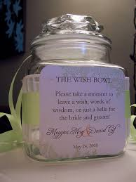 wedding wish jar diy project wedding wish bowl