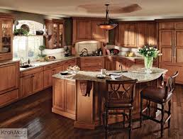 cherry cabinets in kitchen kraftmaid cherry cabinetry in burnished ginger traditional