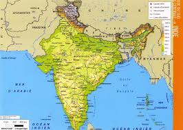 India Political Map Www Mappi Net Maps Of Countries India