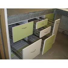 modular kitchen stylish drawers at rs 65000 unit modular