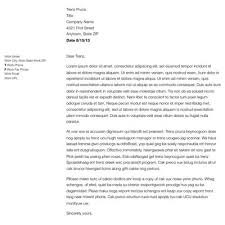 business letter format spacing guidelines how to write a business letter