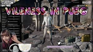 pubg dbno vileness in pubg custom game on kate s stream youtube