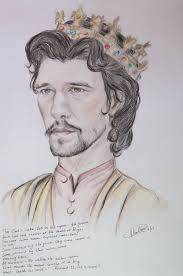 ben whishaw as king richard ii by mariahasapaintbrush on deviantart