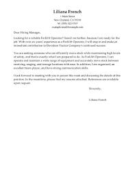 Resume For Forklift Operator Warehouse Resume Cover Letter Choice Image Cover Letter Ideas