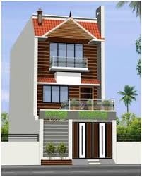 house and homes row house ground first floor elevation modern house