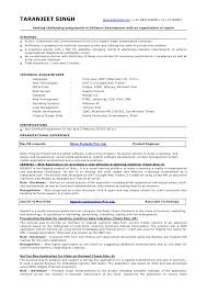 java developer resume sle 1 taranjeet singh taranjs gmail