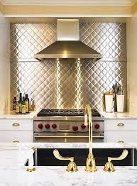 kitchen stainless steel backsplash the range a stainless steel backsplash sted in a