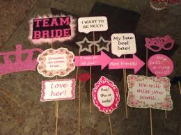 buy bridal shower props and banner by all things in karachi