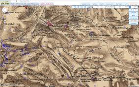 Map Of Isreal A Geographer U0027s Paradise U2014 Pef And 1 50 000 Maps Of Israel