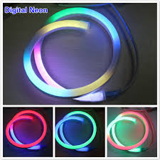 26mm digital christmas multicolor led neon lights for rooms