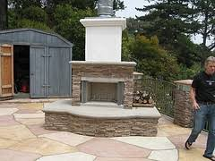 Outdoor Fireplace Houston by Prefab Outdoor Fireplace Fireplace Ideas
