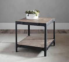 Reclaimed Wood Console Table Pottery Barn Clint Collection Pottery Barn