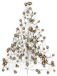 2 crab pot tree with 100 clear mini lights contemporary