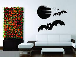 wall decals stickers home decor home furniture diy wall sticker decal vinyl design halloween moon bat room
