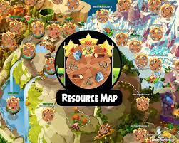 Magic Mountain Map Fully Labeled Angry Birds Epic Resources Map Maximize Your U201croll