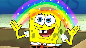 Meme Encyclopedia - image spongebob rainbow meme 990x557 jpg encyclopedia