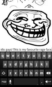 Meme Faces On Facebook - post rage faces in your facebook status message with meme timeline