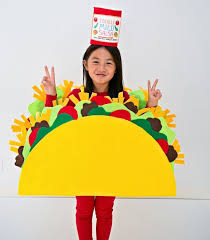Halloween Costumes Kids 25 Taco Costume Ideas Food Costumes Diy
