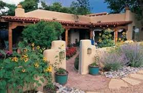 Santa Fe Style House Santa Fe Design Styles Fences Well Designed Entry Might Include