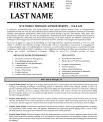 top project manager resume templates u0026 samples