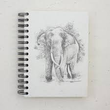 mr ellie pooh u2022 handmade fair trade gifts u2022 large notebook tusker
