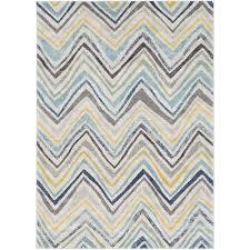 Blue And Grey Area Rug Zipcode Design Evangelina Blue Gray Area Rug U0026 Reviews Wayfair