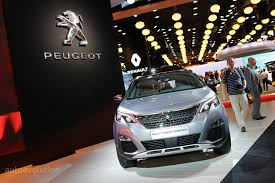 new peugeot small car all new peugeot 5008 is a 7 seater crossover in paris autoevolution
