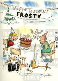 Frosty The Snowman Happy Birthday Meme - happy birthday frosty birthday pinterest snowman cartoon