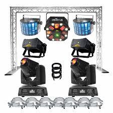 dj lighting truss package chauvet show maker 150 pro lighting package idjnow