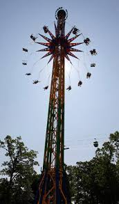 Six Flags Height Six Flags Debuts New Skyscreamer Ride Ny Daily News