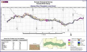 Map Of Counties In Kansas Kgs Kansas River Corridor Geology