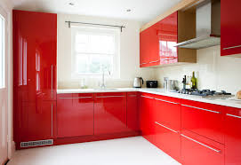 pictures of red kitchen cabinets red kitchen cupboards cozy bespoke bright design robinsuites co
