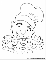 incredible pizza coloring page only pages with pizza coloring