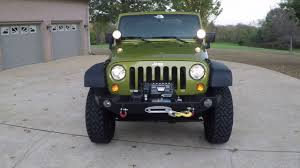 2007 green jeep wrangler hd 2007 jeep wrangler rubicon rescue green lifted info