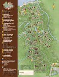 Wisconsin Campgrounds Map by The Campsites At Disney U0027s Fort Wilderness Resort