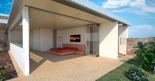 sliding and stacking patio door aluminum atrium albert genau