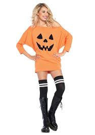 pumpkin costume halloween jersey pumpkin dress