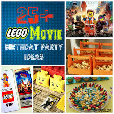 25 lego movie birthday party ideas burnt apple