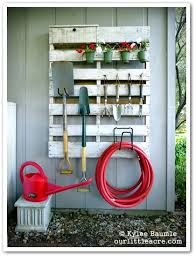 how to hang tools in shed 16 genius garden tool organization ideas
