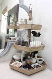 Bathroom Counter Shelves 15 Easy Ways To Organize And Store Your Makeup Third